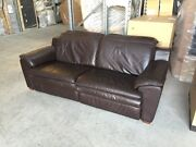 2.5 SEATER LEATHER SOFA Benalla Benalla Area Preview