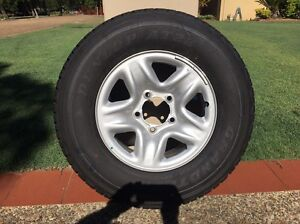 Landcruiser 200GX Steel Rims & Tyres Coomera Gold Coast North Preview