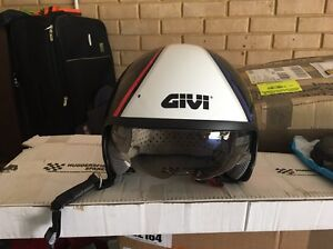 Helmet with built in sun visor size L Woodvale Joondalup Area Preview