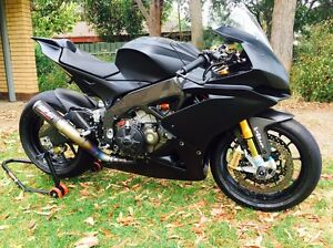 2012 Aprilia RSV4 Factory APRC race / track day bike Hackham Morphett Vale Area Preview