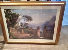 "Framed print of ""lodge on lake Como"" by Carl aagaard Dee Why Manly Area Preview"