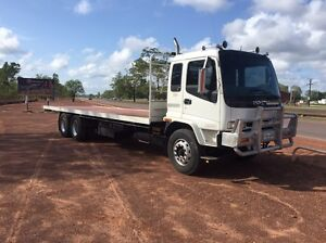 ISUZU FVR 950. 9mtr tray lazy axel 14ton 170000ks Only Gray Palmerston Area Preview
