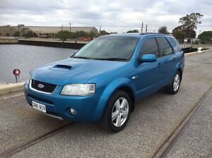 2006 Ford territory GHIA TURBO 6speed auto Redwood Park Tea Tree Gully Area Preview