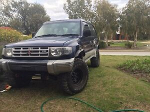 1997 Mitsubishi Pajero 3.5L Manual Widebody swap or sell Mandurah Mandurah Area Preview