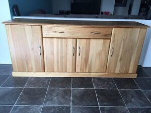 Solid oak wooden buffet Bertram Kwinana Area Preview
