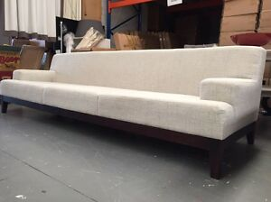 Bench Style 2.7m Fabric Sofa - EX DISPLAY Dandenong South Greater Dandenong Preview