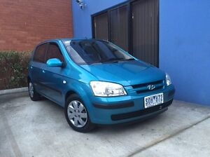 2003 Hyundai Getz 5 dr Hatch Auto Epping Whittlesea Area Preview