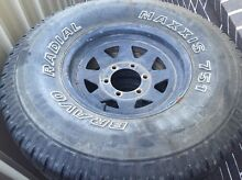 4 x 32 inch 4x4 allterrain tyres on 15 inch steel rims Middleton Grange Liverpool Area Preview