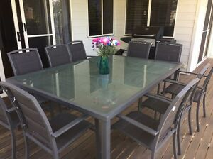 11 piece outdoor dining setting Toowong Brisbane North West Preview