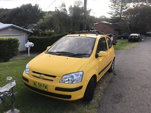 2004 Hyundai Getz - Automatic Dudley Lake Macquarie Area Preview
