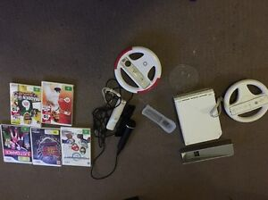 Wii with Mario Kart and Guitar Hero Magill Campbelltown Area Preview