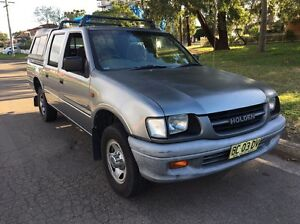 2000 HOLDEN RODEO TF R9 LX UTE CREW CAB 4DR MANUAL 4MONTHS REGO Liverpool Liverpool Area Preview
