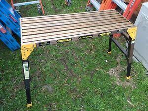 Aluminium platform ladder Ferntree Gully Knox Area Preview