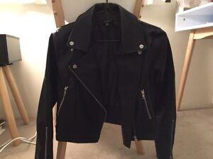 Black Leather look Jacket Coat. Size8. Like NEW. Attik, Bardot, Shieke Sydney City Inner Sydney Preview