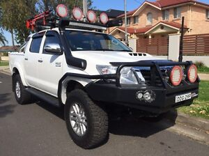 2012 Toyota hilux sr5 upgrade Mount Lewis Bankstown Area Preview