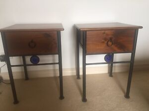 Vintage bedside tables Greenwich Lane Cove Area Preview