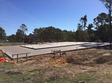 Licenced Concreter , all aspects of concreting, excavator posi tipper Maroochydore Maroochydore Area Preview