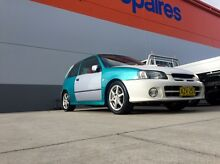 Toyota starlet glanza v turbo rep 4500ono or swap for 4x4 Edgeworth Lake Macquarie Area Preview