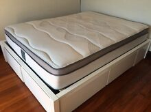 Queen size Freedom furniture bed and mattress Bondi Beach Eastern Suburbs Preview
