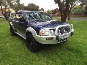 2003 Nissan navara turbo diesel Coburg North Moreland Area Preview