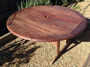 jarrah outdoor table in Adelaide Region SA