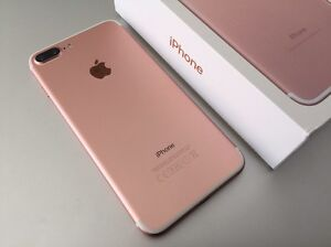 Rose gold iPhone 7 plus 128gb unlocked Eight Mile Plains Brisbane South West Preview