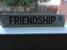 Friendship street sign Chadstone Monash Area Preview