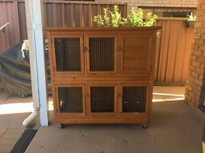 Custom Made Deluxe Rabbit Hutch Baulkham Hills The Hills District Preview