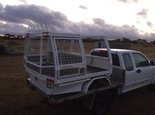 Hilux steel tray dual cab double cab hunting dog box Ballarat North Ballarat City Preview