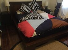 Queen Bed Frame Freedom Furniture Solid Wood Leichhardt Leichhardt Area Preview