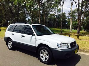 Subaru Forester X Wagon MY03 AWD 5speed White Moorebank Liverpool Area Preview