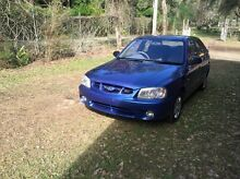 2000 Hyundai Accent inco Rwc and 6m rego Rochedale South Brisbane South East Preview