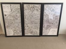 Set of 3 framed Paris prints (B&W) Bondi Beach Eastern Suburbs Preview