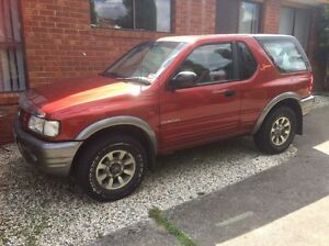 2000 Holden frontera sports 5 speed manual mint condition rare to find Mill Park Whittlesea Area Preview