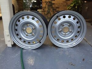 HOLDEN COMMODORE PURSUIT RIMS 15x7 in VGC Birkdale Redland Area Preview