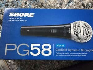 Shure PG58 vocal mic In as new condition Chatswood Willoughby Area Preview