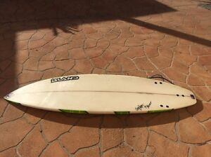 "6'4"" surfboard Yamba Clarence Valley Preview"
