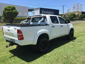 2007 Toyota Hilux 4x4 SR Turbo Diesel Dual Cab Ute Eagle Farm Brisbane North East Preview