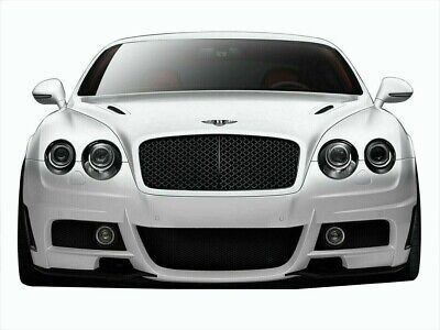 Bentley Continental GT GTC 03-10 Aero Function AF-1 Front Bumper