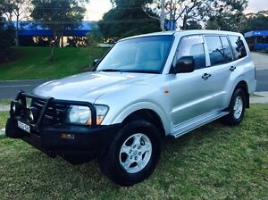 Mitsubishi Pajero GLX 2002 Turbo Diesel Wagon Auto Low Klms Kellyville The Hills District Preview