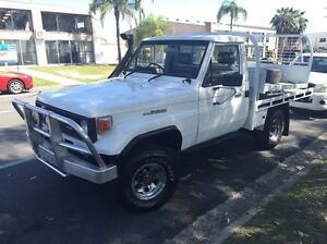 Toyota landcruiser 4x4 ute.  diesel. Rwc. Labrador Gold Coast City Preview