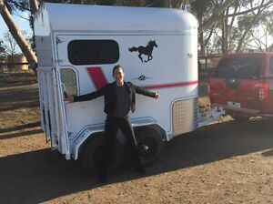 Fully refurbished double horse float Altona Meadows Hobsons Bay Area Preview