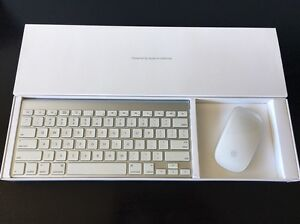 Apple Wireless Keyboard + Magic Mouse Modbury Heights Tea Tree Gully Area Preview