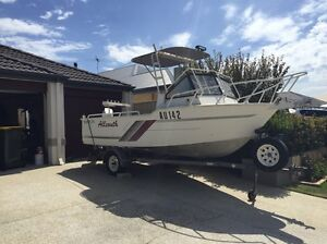 Aluminium runabout fishing boat Tapping Wanneroo Area Preview