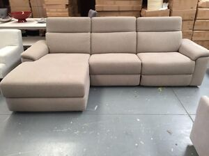 Brand New Fabric Recliner w Chaise - 50% off RRP Dandenong South Greater Dandenong Preview