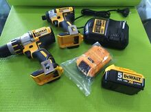 DeWalt BRUSHLESS 18V 2pc Combo Set Brunswick East Moreland Area Preview