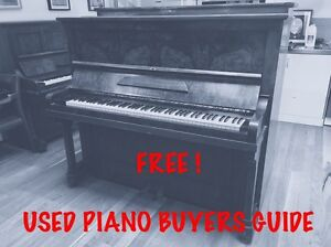 ***FREE***   'USED PIANO' BUYERS GUIDE Norwood Norwood Area Preview