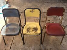 Old school chairs - retro East Gosford Gosford Area Preview
