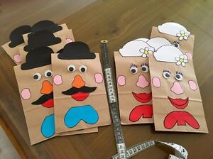 Mr & Mrs potatohead party bags Birmingham Gardens Newcastle Area Preview
