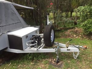 Off road heavy duty camping trailer Valley Heights Blue Mountains Preview